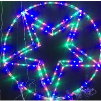 75cm Diameter Star Bauble