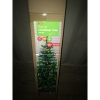 Multi Coloured Lit Christmas Tree 6'