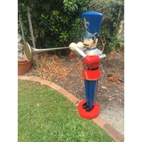 122cm Tall Toy Soldier with Trumpet