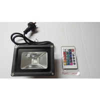 20 Watt LED RGB Color Changing Flood Spotlight with Remote