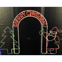 Merry Christmas LED Arch