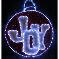 LED Bauble with JOY