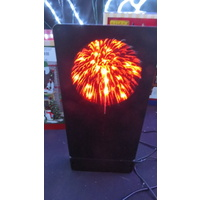 Lemax Red Fireworks Light (battery operated)