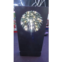 Lemax White Fireworks Light (battery operated)