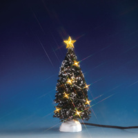Lemax Warm White Evergreen Tree