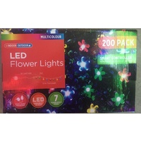 13.9M LED Multi Flower Strings