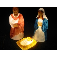 3 Piece Traditional Nativity Set 28""