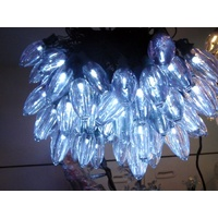 20M Long White Traditional Style Party String Light