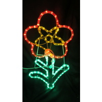 LED Flower Motif 60cm tall