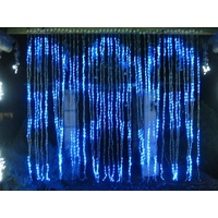 Commercial LED Display Waterfall Light -Digital (see video) -Also available in red