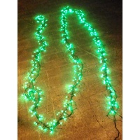 10M Green LED Cluster Firecracker String Light