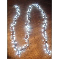 10M White LED Cluster Firecracker String Light