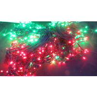 15M Red and Green LED Icicles