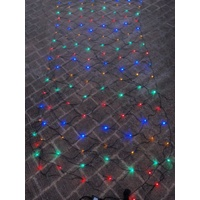 3m x 1.5m Flashing Multi Coloured LED Net Light