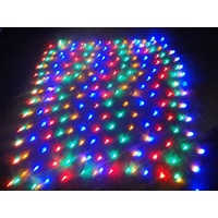 2.8m x 2.4m Multi Coloured LED Net Light with 8 Function Controller