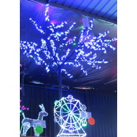 2.5M Tall White LED Cherry Blossom Tree