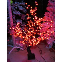 1.35m Tall Pink LED Cherry Tree