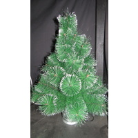 60cm Tall Green Glitter Tree