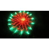 150cm Diameter LED Red and Green Clock Net Light