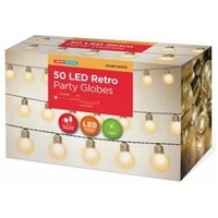 LED Multi Retro Party Lights - 7.3m