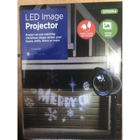 LED Image Projector - Merry Christmas
