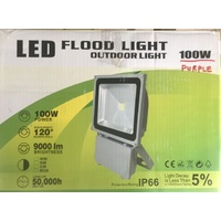 100W Purple LED Flood Light