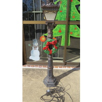 "45"" Tall Resin Outdoor Lamp Post"