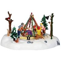 Lemax Holiday Merry- Go- Round