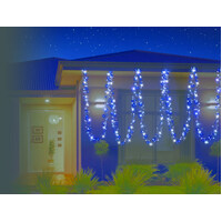 29M Blue and White LED Cluster/firecracker Lights