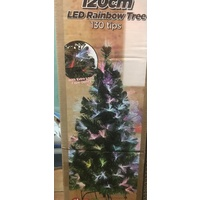 120cm Tall Fibre Optic Christmas Tree