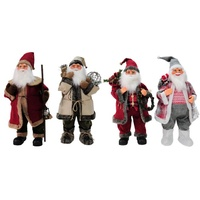 Deluxe Santa Figures -80cm tall