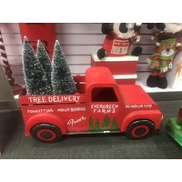Metal Tree Delivery Truck (includes trees)