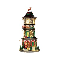 Lemax Christmas Clock Tower