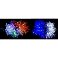 LED 3D Blue and White Star Lights - 5.85m long