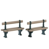 Double Seated Bench, Set of 2 - avail 2021