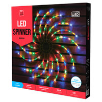 LED Multi Spinning Light - 50cm Diameter