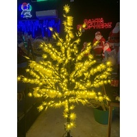 2M Tall Yellow LED  Maple Tree