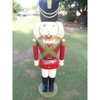 6 Foot Tall Commercial Nutcracker- Red