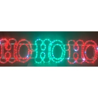 LED Flashing HO HO HO