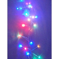 10M Multi Coloured LED Cluster Firecracker Lights