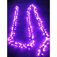 10M  Pink LED Cluster Firecracker String Light