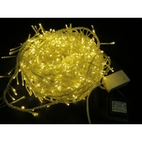 20M  Warm White LED Cluster Firecracker String Light