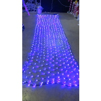 6m x 1.5m Blue LED Coloured Net Light  - 700 bulbs