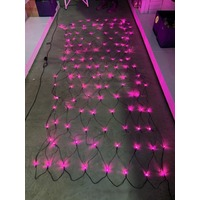 3m x 1.5m Pink LED Net Light