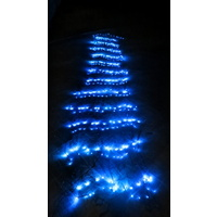 Blue LED Waterfall Effect Net Light 3m x 1.5m