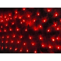 Red LED Waterfall Net Light 3m x 1.5m