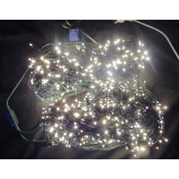 100M Warm White String Lights on a Green Wire (no controller)