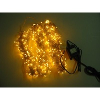 50m Yellow LED Strings