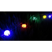 20M Long Multi Coloured LED Party Globe String Lights