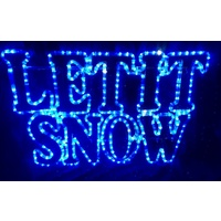 LET IT SNOW Motif